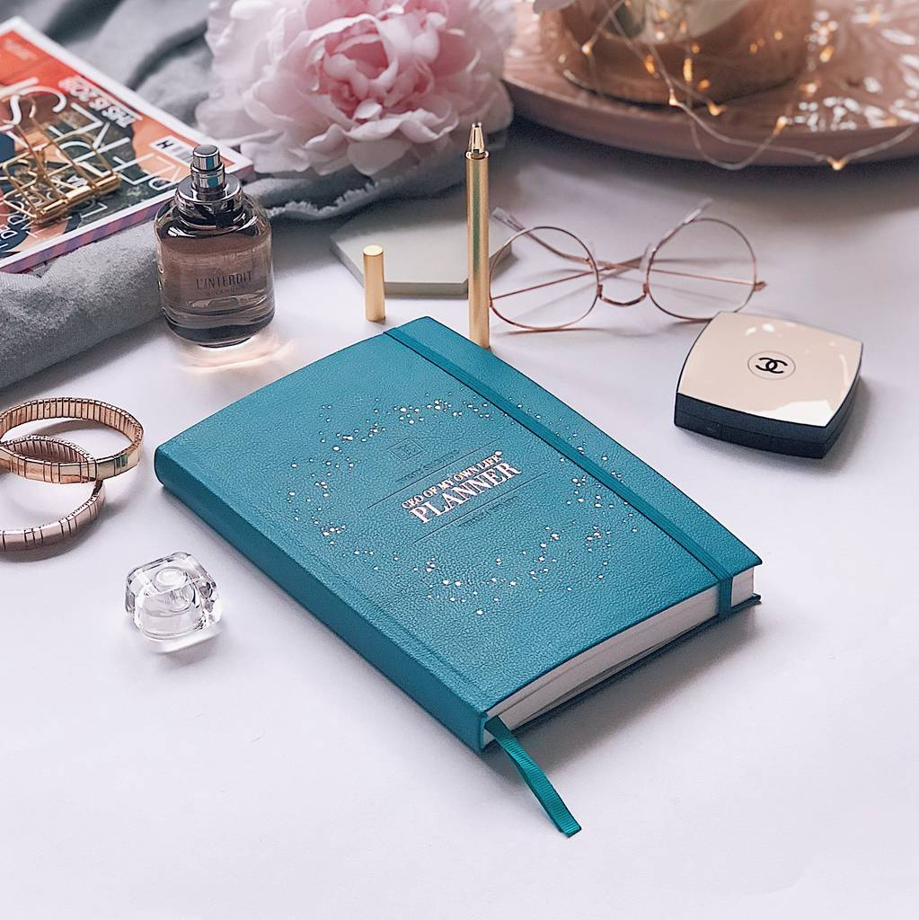 Ceo Of My Own Life® Planner | Undated And Weekly | Teal by Ella Iconic