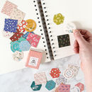 Floral Patterned Sticker Pack