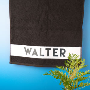 Personalised Pet Towel - new in pets