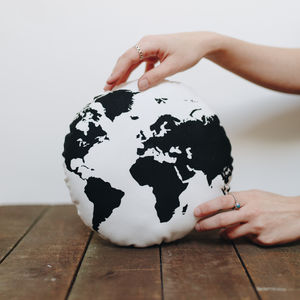 The World Screen Printed Cushion