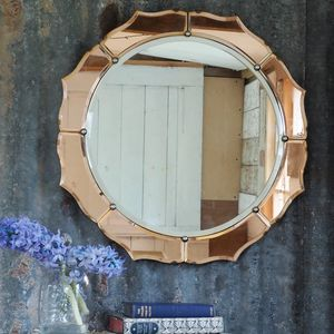 Art Deco Mirror/ Vintage Mirror/ Antique Mirror - mirrors