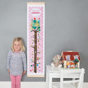 Personalised Fairy Tree Height Chart
