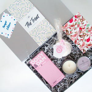 Pamper Gift Set Candle Bathbomb - home accessories