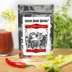 Another Bloody Birthday? Bloody Mary Birthday Gift - sauces & seasonings
