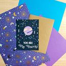 Cute 'You Are My Universe' Card