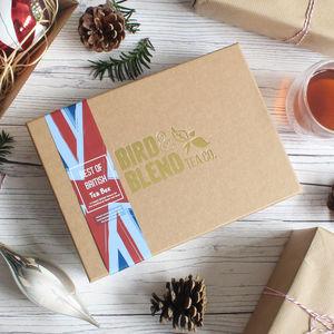 'Best Of British Tea' Gift Box - waterloo pop up