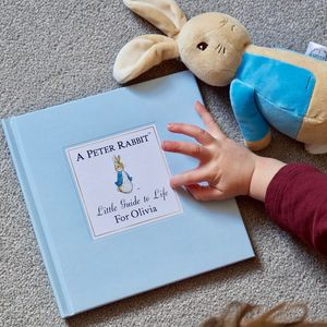 Personalised Peter Rabbits Little Guide To Life - shop by recipient