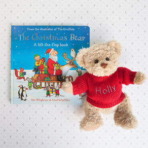 Bertie Bear's Christmas Book Set - teddy bears