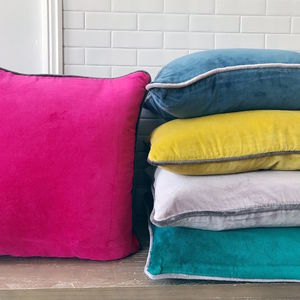 Velvet Cushion With Inner - cushions