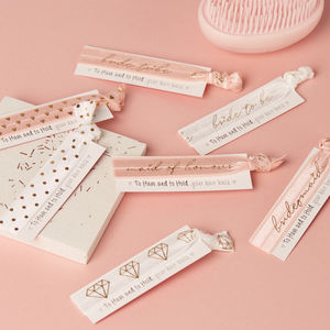 Hen Party Favour Hair Tie