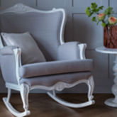 Belle Hand Carved Rocking Chair From Lilies And Lions - home