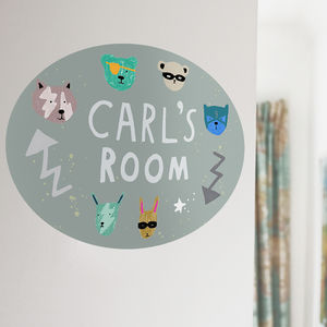 Personalised Kid's Room Sign - new in home