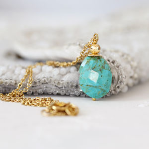 Arizona Turquoise Necklace - necklaces & pendants