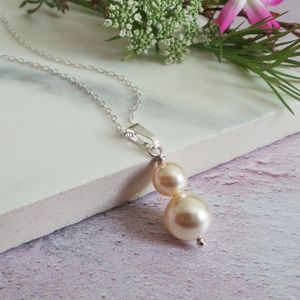 Bliss Pearl Bridal Necklace - necklaces & pendants