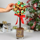 Lindor, Ferrero And Fudge Edible Present Tree