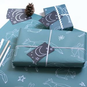 Constellation Christmas Wrapping Paper Gift Set - new in christmas