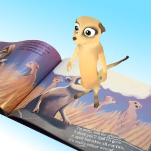 Personalised 3D Animated Fairytale Story Book - toys & games