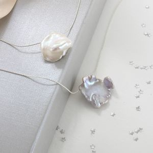 Keimau Single Keshi Pearl Necklace - necklaces & pendants