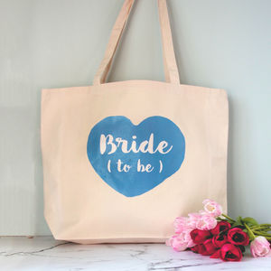 Personalised Bride To Be Tote Bag