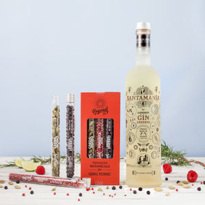 Gin And Tonic Santamania Botanical Kit - artisan alcohol