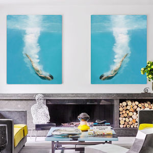 Deep Sea Loving, Canvas Art - canvas prints & art