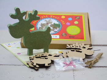 Decorate Your Own Reindeers Kit