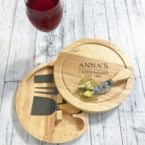 Personalised Cheeseboard - kitchen