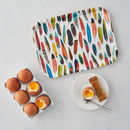 Feathers Birch Wood Breakfast Tray