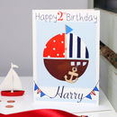 Personalised Nautical Boat Any Occasion Card