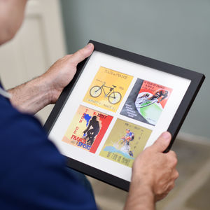 Vintage Tour De France Poster Print - drawings & illustrations
