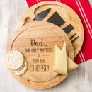 Personalised Cheese Board For Grandad