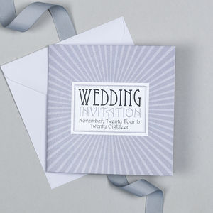 New York Wedding Invitation - invitations