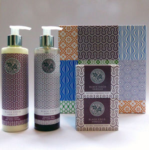 The Coco Vanille Luxury Gift Box - bath & body