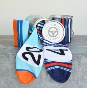 Racing Car Socks Gift Set