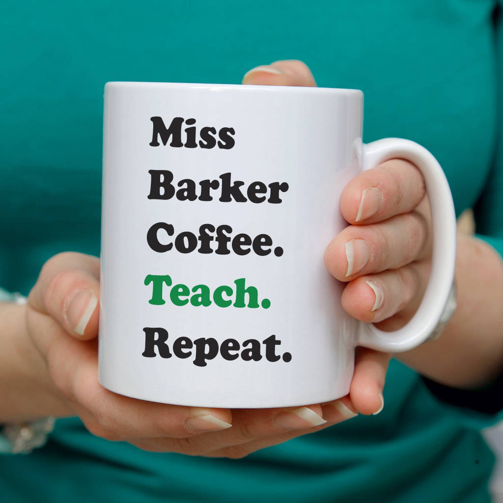 teacher s coffee mug or travel mug gift by so close