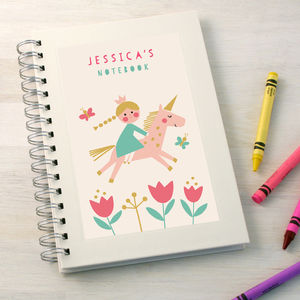 Personalised Children's Notebook - gifts for children