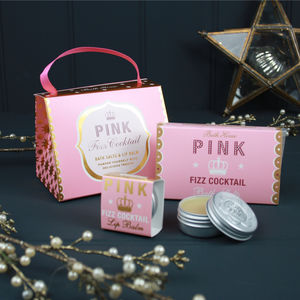 Pink Fizz Cocktail Handbag Treat
