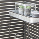 Zinc Table Tray