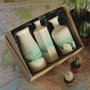Ceramic Vase Gift Box Set