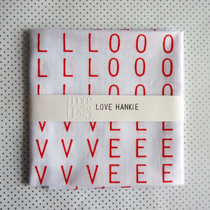Love Hankie - gifts for grandparents
