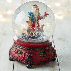Musical Snow Globe - snow globes & ornaments