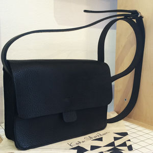 Leather Cross Body Bag - bags & purses