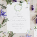 British Wildflower Floral Watercolour Wedding Invites