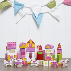 Fairytale Castle Building Blocks - new in baby & child