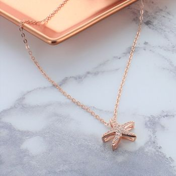 Starfish Rose Gold Necklace