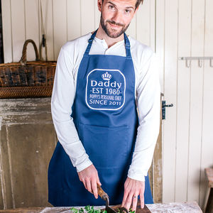 Personalised King Of The Kitchen Apron - personalised gifts sale