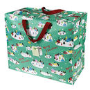 Vintage 'Christmas' Design Storage/Shopping Bag