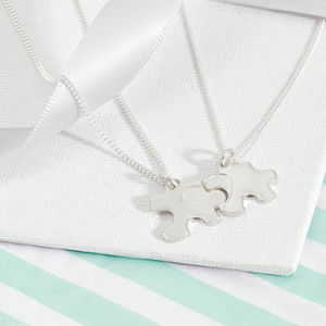 My Mummy And Me Heart Necklace Set