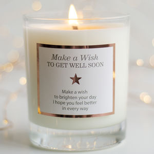 Get Well Soon Scented Candle - christmas home accessories