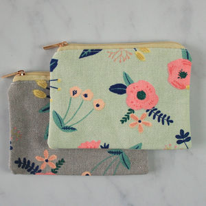 Little Flowers Print Coin Purse - bags, purses & wallets